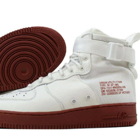 premium selection 83106 cb532 Nike SF Air Force 1 Mid 17 - Mens Shoes Ivory/Ivor Boutique